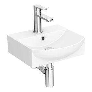 Arezzo 350 x 350 Modern Wall Mounted / Counter Top 1TH Basin
