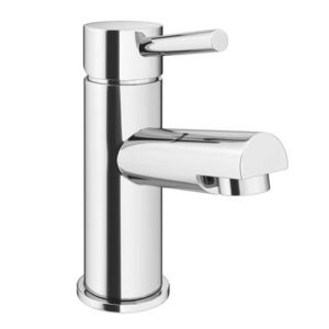 Cruze Contemporary Mono Basin Mixer Tap with Waste – Chrome