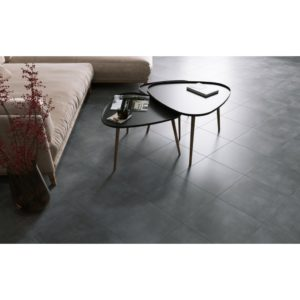 Modern Concrete Anthracite Floor And Wall Tile