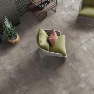Cement Beton 600X600 Matt Dark Grey