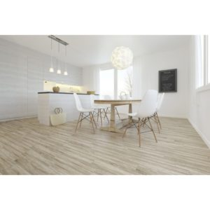 Wood Effect Cream Floor And Wall Tile